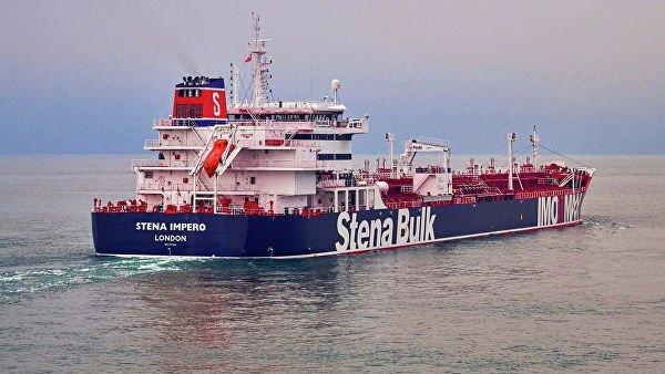 Британский танкер Stena Impero