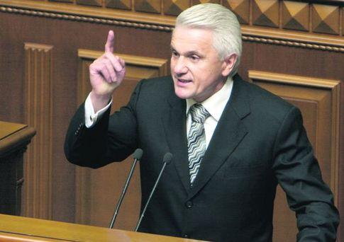 Литвин предлагает договориться о проведении выборов президента Украины в один тур