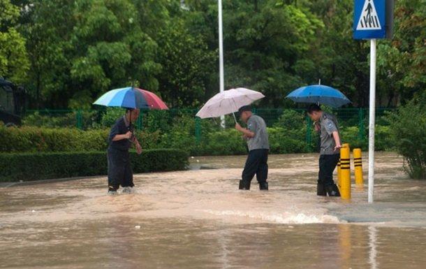 На юге Китая от наводнений пострадали более 1,2 млн человек