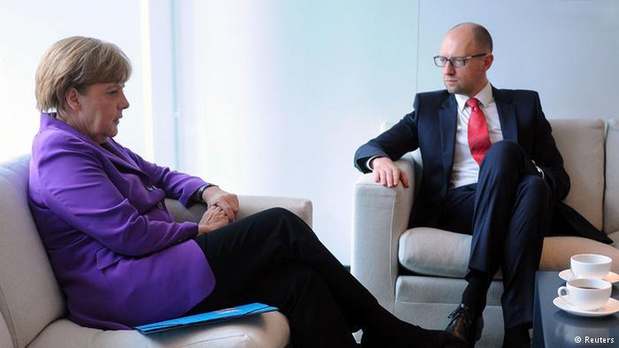 Яценюк пригласил на Украину энергокомпании Германии