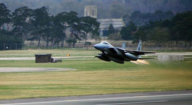 США перебросили в Болгарию эскадрилью истребителей
