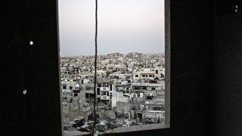 Вид на район Хомса. Архивное фото