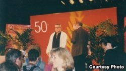 Милош Форман на Каннском кинофестивале 1997 г. Photo: Oleg Sulkin