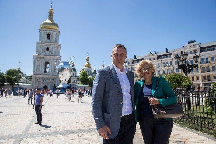 Кличко предлагает Мадриду стать побратимом Киева