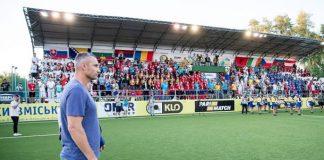 Чемпионат Европы по мини-футболу открыл Виталий Кличко