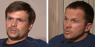 Россияне Алексей Петров и Руслан Боширов отрицают свою причастность к отравлению Скрипалей. Фото: YouTube