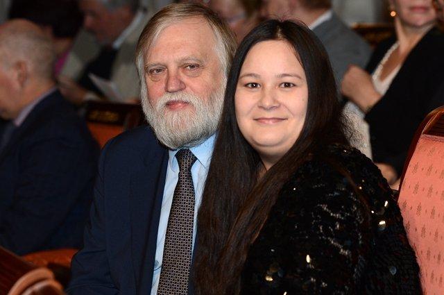 Александр Бялко с женой.