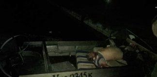 Житель Херсона врезался на лодке в российский танкер
