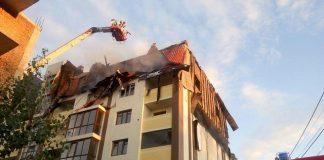 В Киеве загорелась новостройка: опубликованы фото и видео масштабного пожара