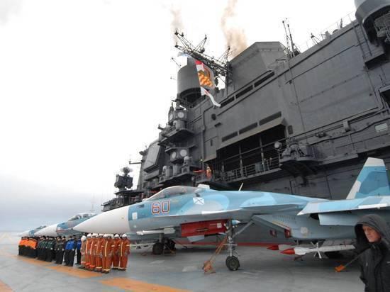 В американском рейтинге худших авианосцев «Адмирал Кузнецов» занял второе место