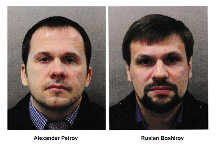 Подозреваемые в отравлении Сергея и Юлии Скрипаль