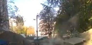 Армагеддон на Борщаговке: в Киеве произошло крупное ЧП