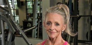 Фитнес бабушка, мотивирующая своим примером