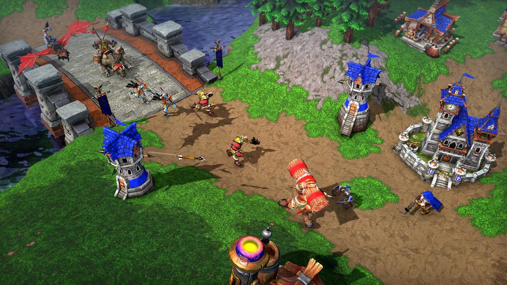 Красота требует жертв: плюсы и минусы Warcraft3: Reforged | WarCraft III 1