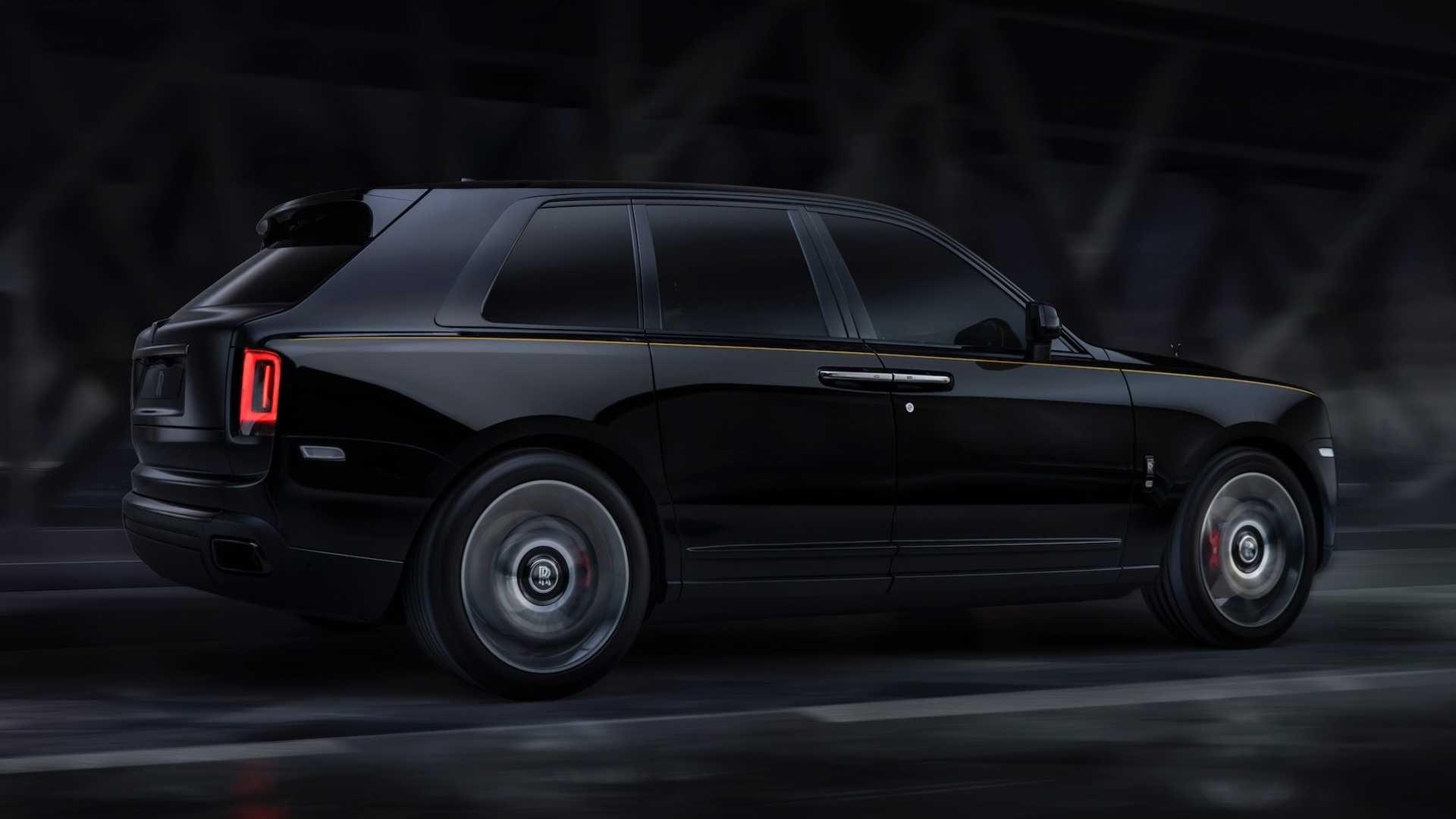 Rolls-Royce представил обновленную модификацию кроссовера Cullinan (Фото) 1