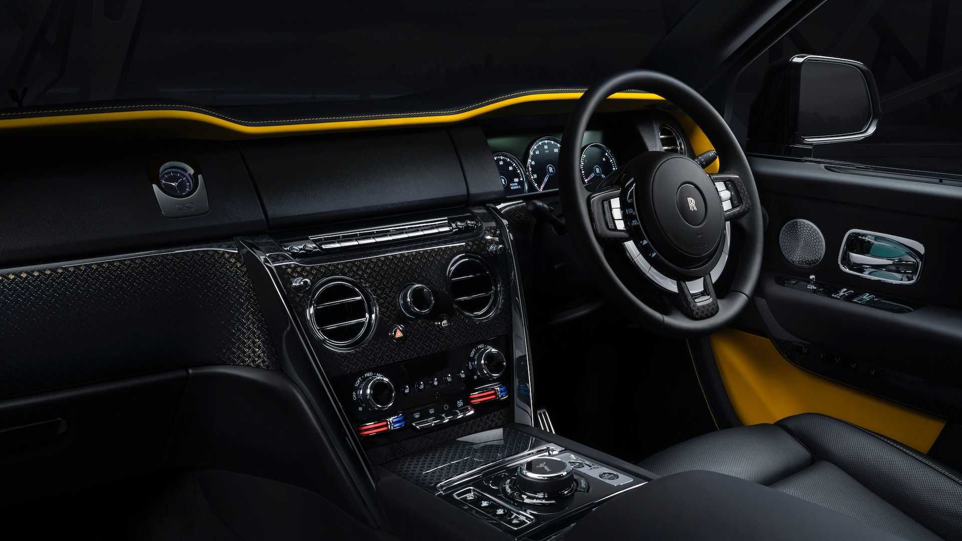 Rolls-Royce представил обновленную модификацию кроссовера Cullinan (Фото) 3