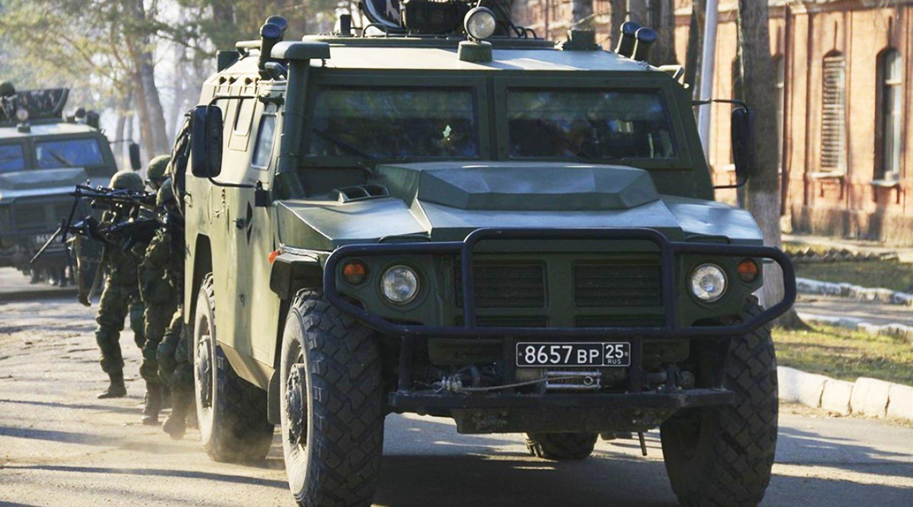на что способен российский армейский автомобиль «Тигр-М» — РТ на русском 1