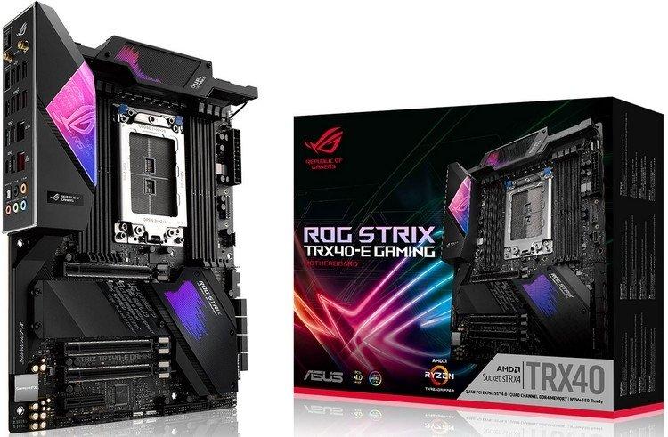 ASUS представила ROG Zenith II Extreme и ещё две платы для Ryzen Threadripper 3000 1