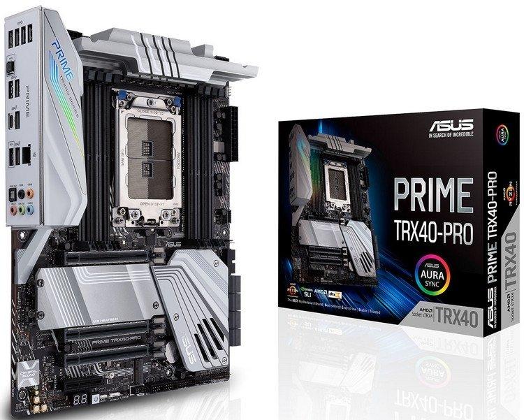 ASUS представила ROG Zenith II Extreme и ещё две платы для Ryzen Threadripper 3000 2