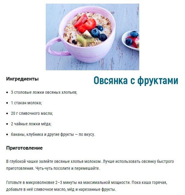 Рецепты простых и быстрых блюд в микроволновке 4
