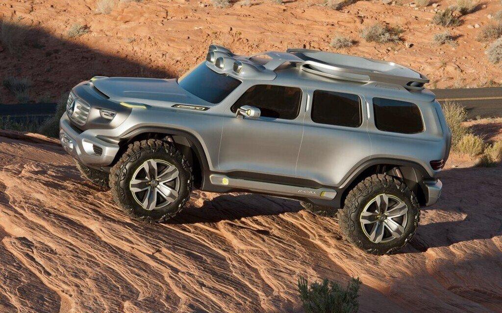 Mercedes Ener-G-Force Concept 2012 демонстрировал развитие дизайна классического