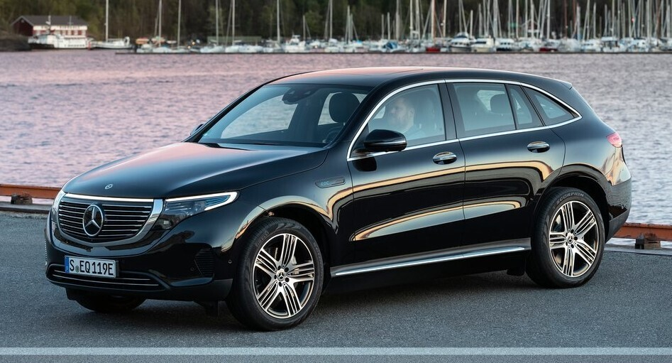 Кроссовер Mercedes EQC – первенец новой линейки электромобилей