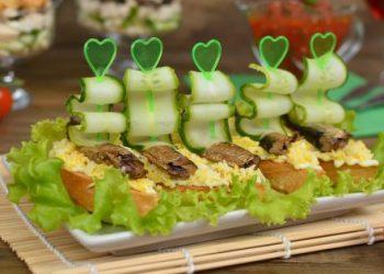 10 вкуснейших бутербродов на праздничный стол