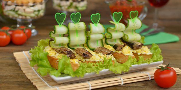 10 вкуснейших бутербродов на праздничный стол 1