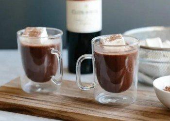 Тренд зимы — Горячий шоколадный глинтвейн