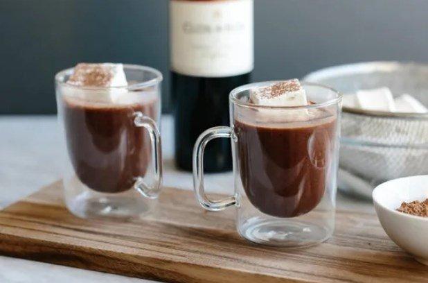 Тренд зимы — Горячий шоколадный глинтвейн 1