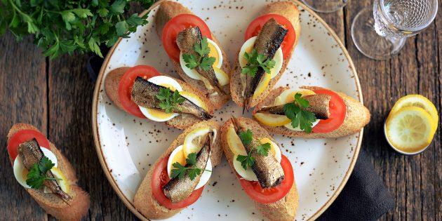 10 вкуснейших бутербродов на праздничный стол 4