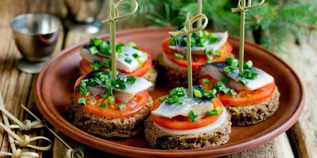 10 вкуснейших бутербродов на праздничный стол 7