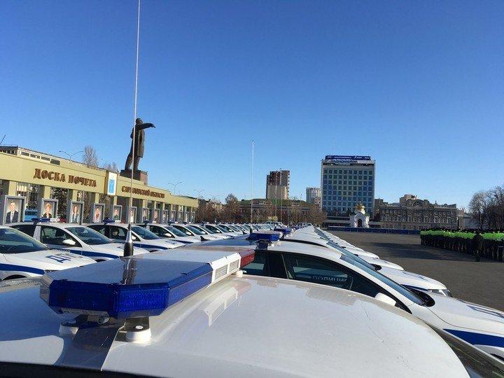Саратовские автополицейские получили автомобили с улучшенными показателями 1