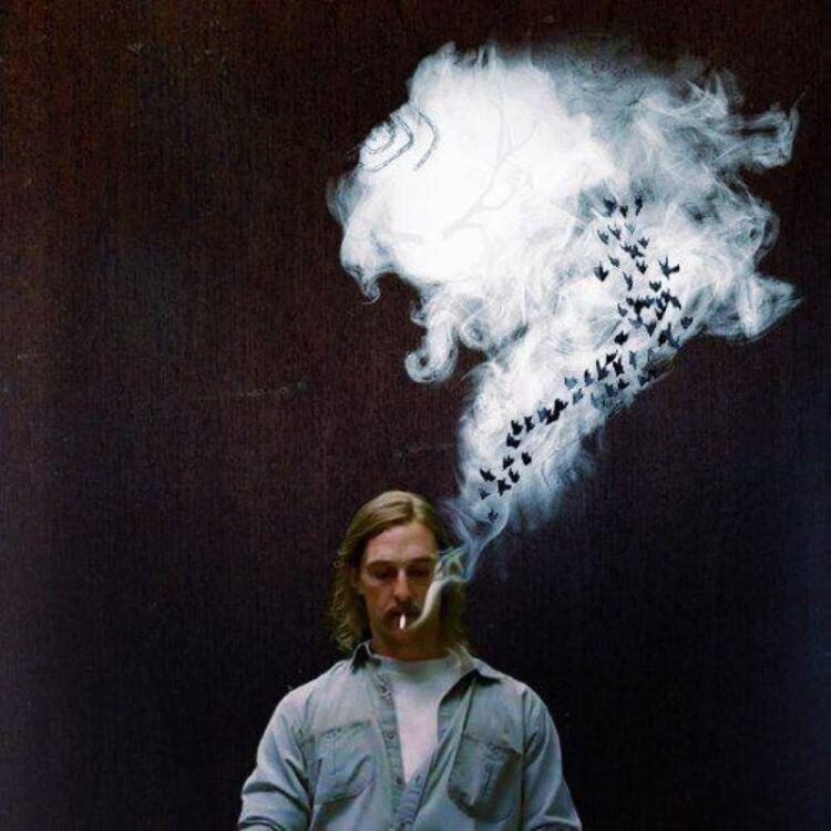 Дым от сигарет влияет на ментальное здоровье 1