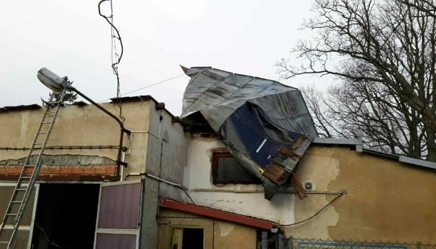 Ураган в Чехии