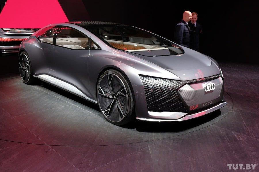 Это умеет ездить: во Франкфурте показали, на каких авто мы будем кататься через 10 лет