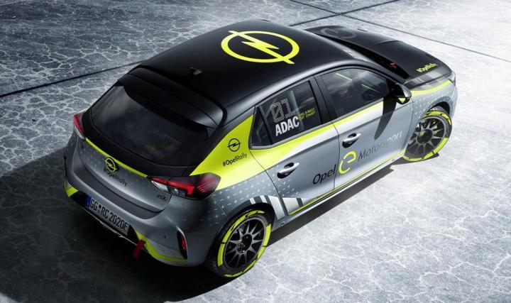 Opel представила первый в мире ралли-кар на батареях (фото) / Актуально / Finance.ua 1