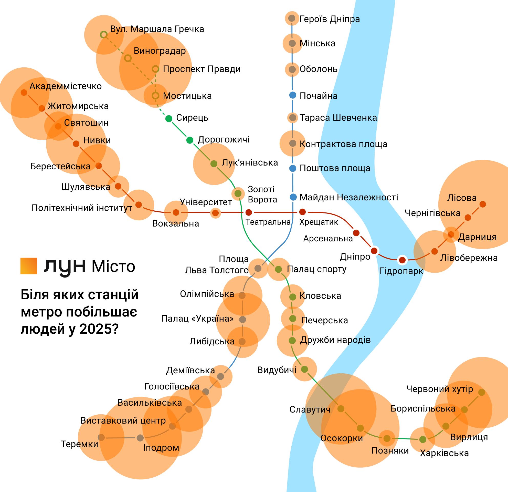 Метро или не метро. Как развивать транспорт в Киеве? 2